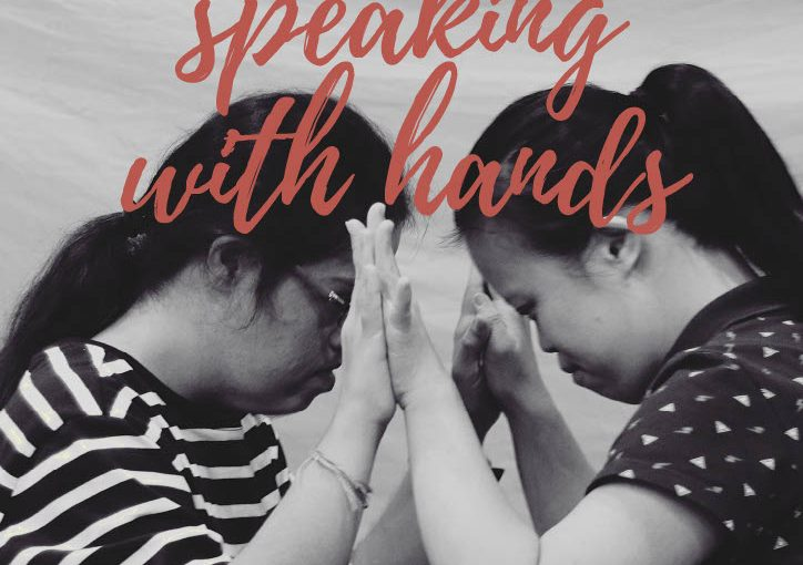 Speaking With Hands by Maya Dance Theatre – 7 November